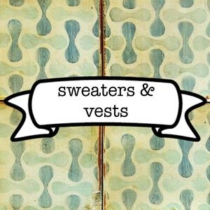 Sweaters - cardigans, pull-overs, twin sets, dusters, vests
